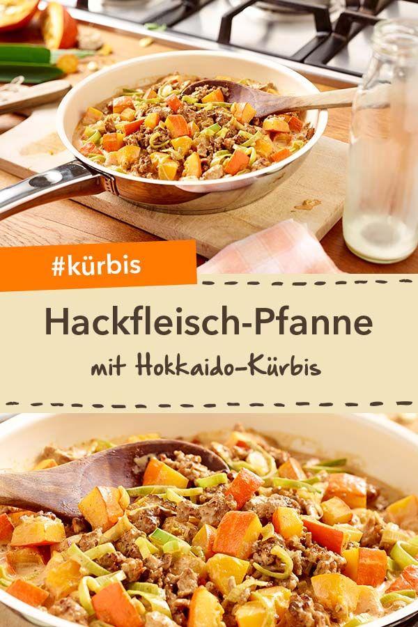 Schnelle Hackfleisch-Kürbis-Pfanne #gezondeten