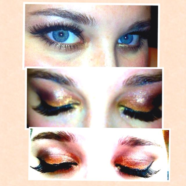 It S Is My Makeup I Did The Other Night I Used A Mac Snow