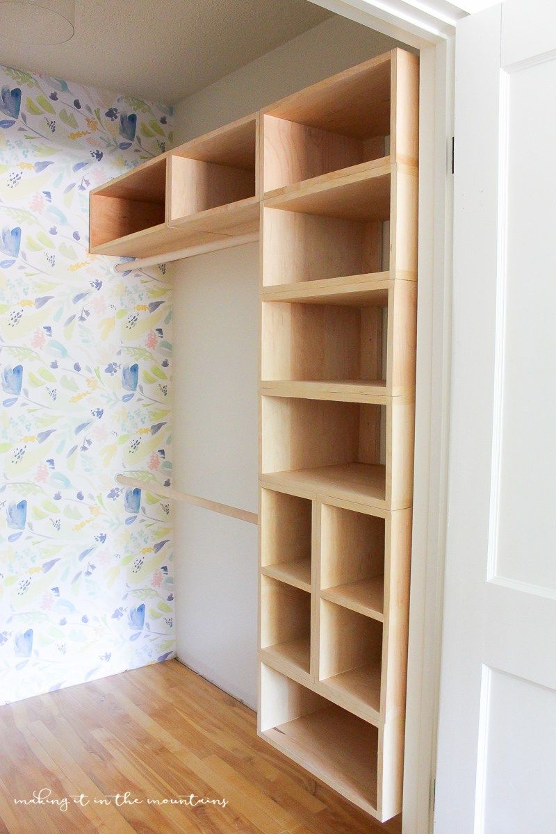 diy custom closet organizer: the brilliant box system | closets