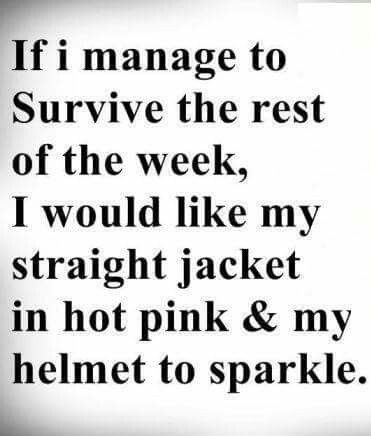 Except I want my straight jacket to be in purple! LOL | THIS IS ...
