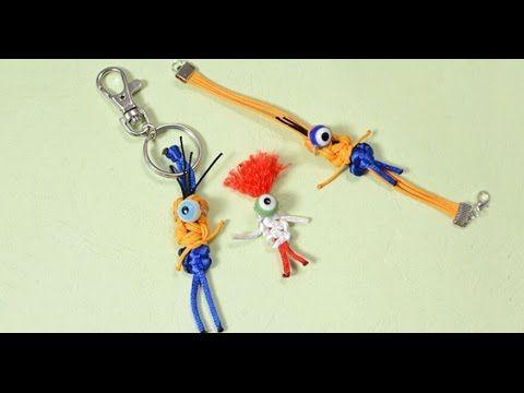 nylon thread craft how to make homemade halloween keychain youtube - Youtube Halloween Crafts