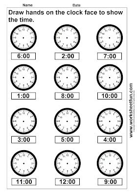 Free Printable Math Worksheets | Math (time) | Pinterest | Schule ...