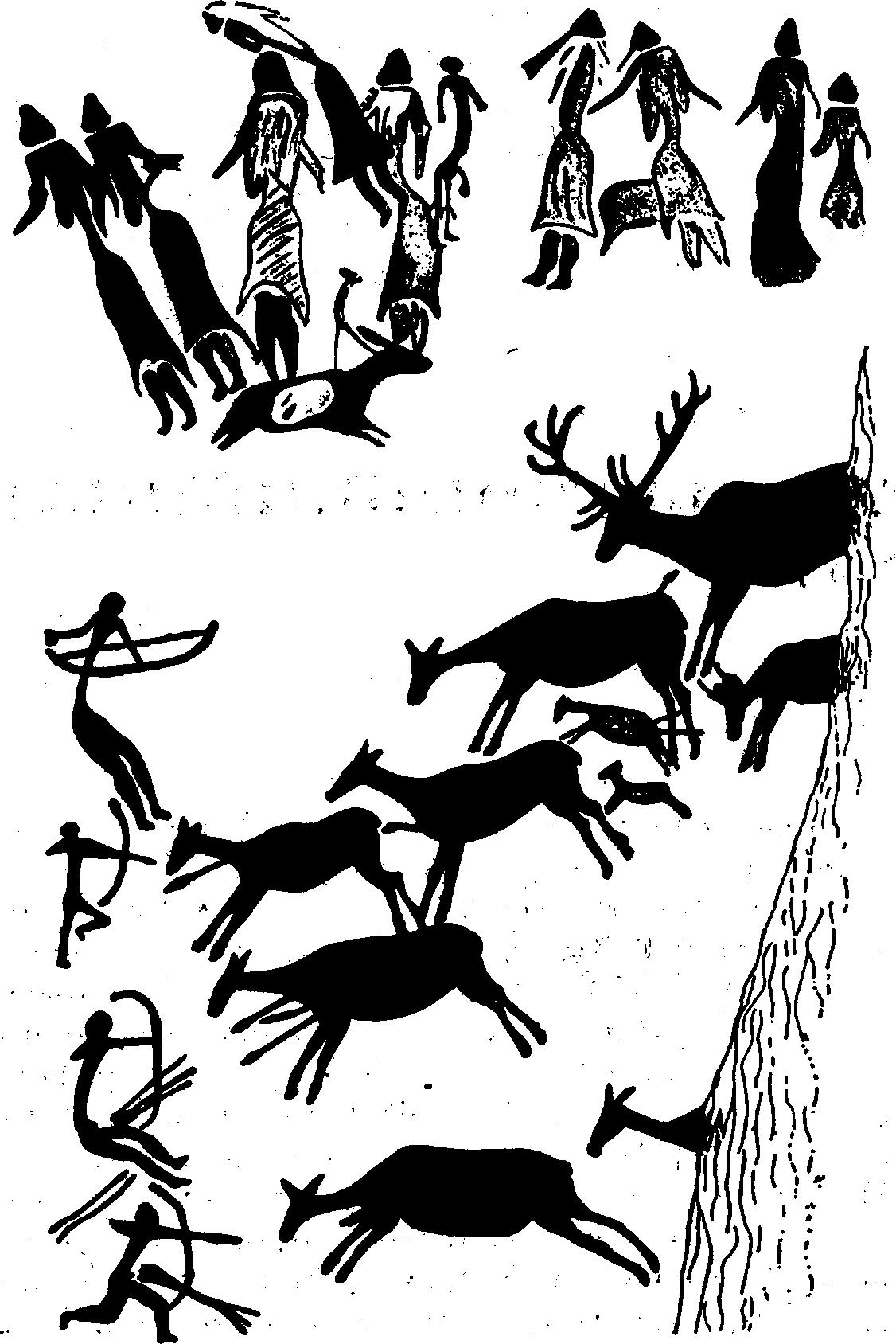 Картинки эпохи мезолита