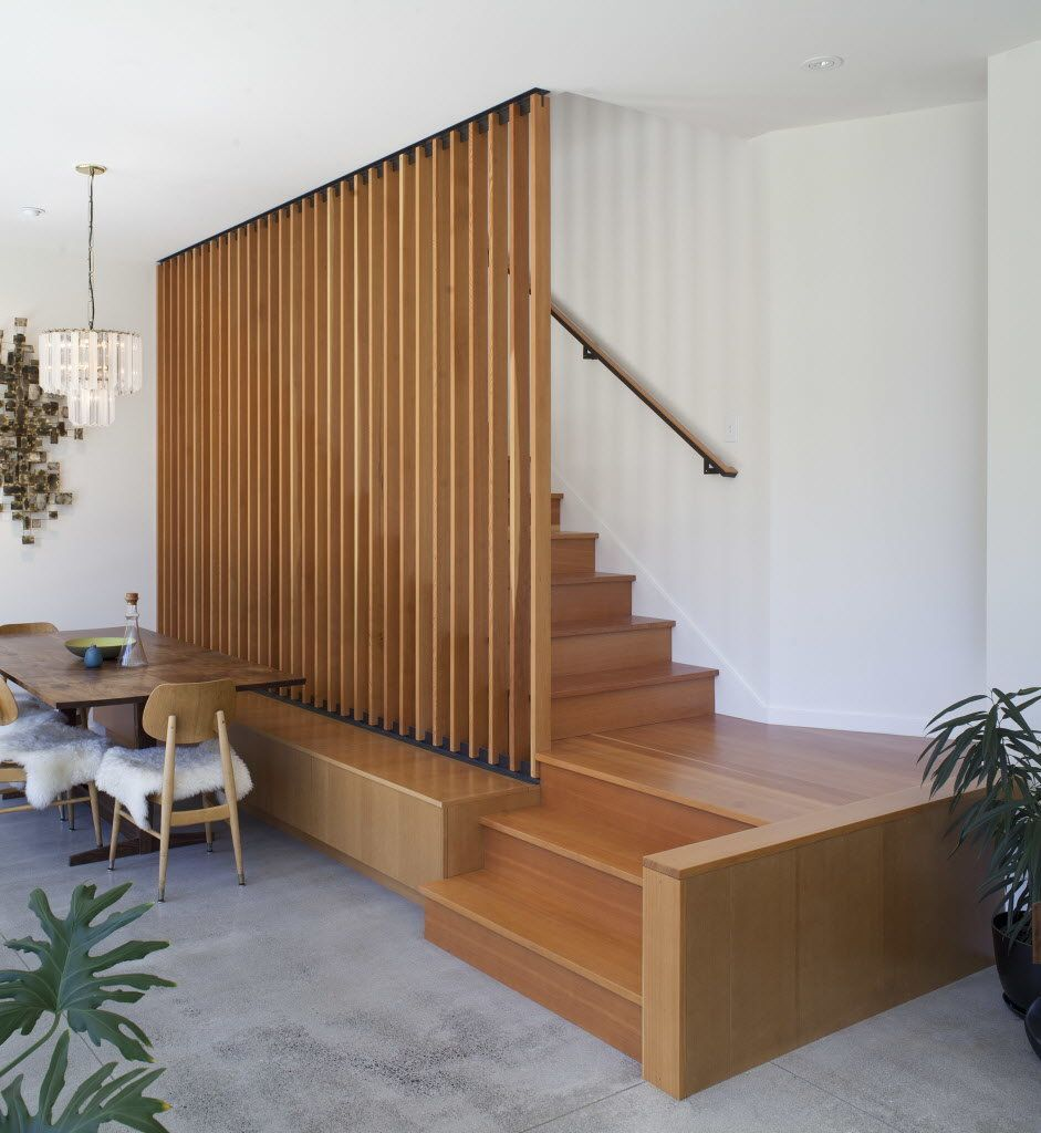 Best Passive L Shaped Portland House Wood Staircase Wooden 400 x 300