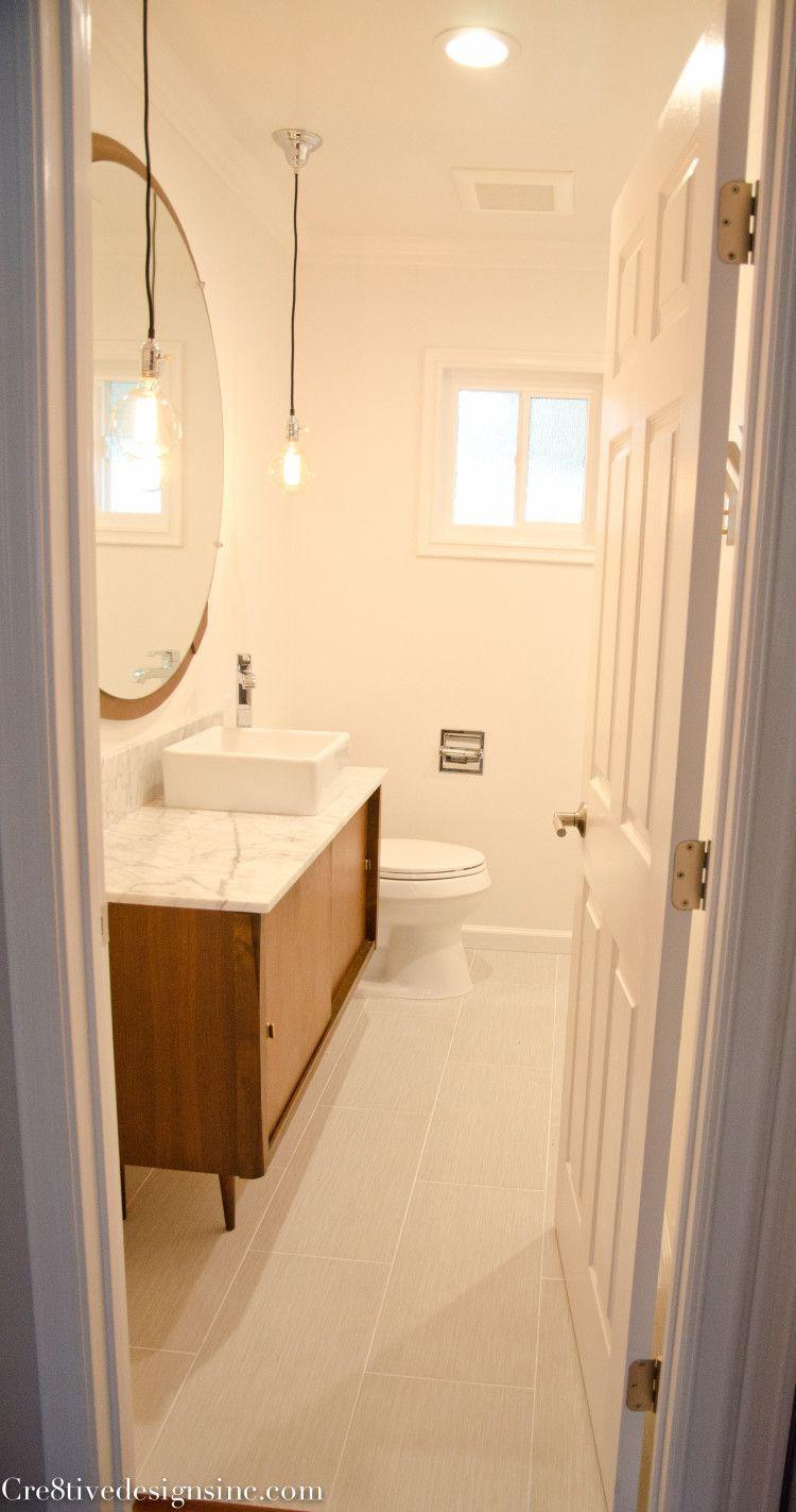 e536779ffe50 Mid-century Modern bathroom vanity Home Depot Bathroom Vanity
