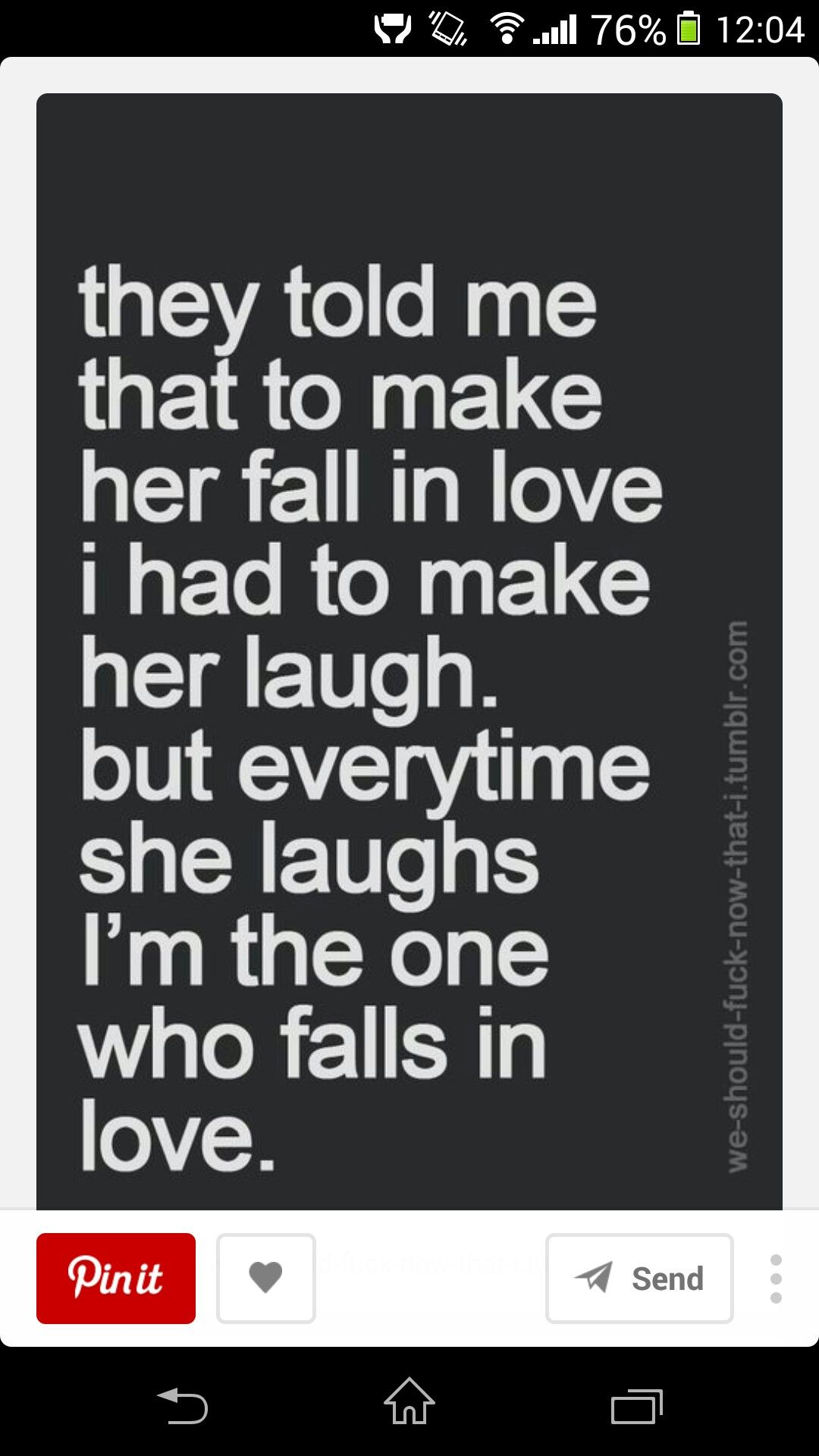 Quotes To Make Her Fall In Love Pint T On Life  Pinterest