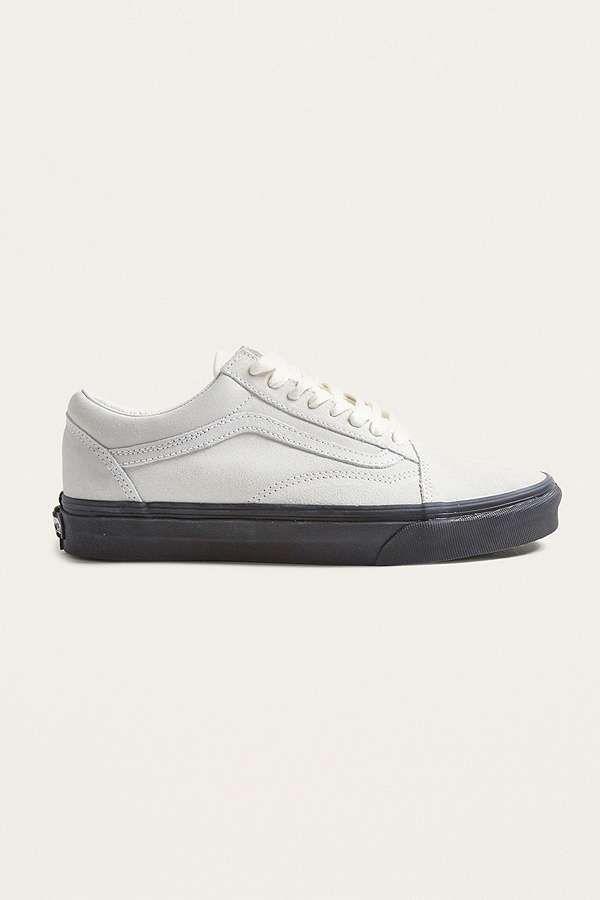 """Vans – Sneaker """"Old Skool"""" in Weiß mit schwarzer Sohle"""