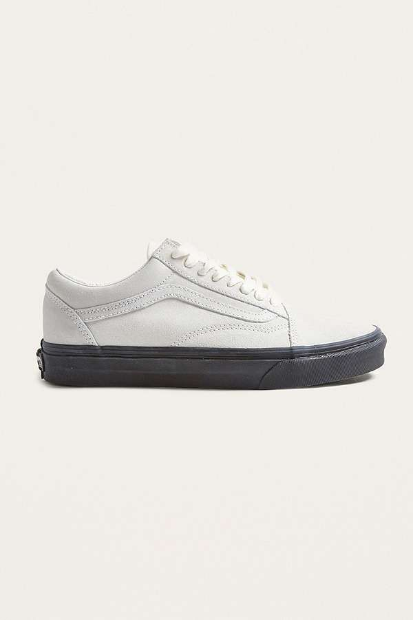 "286afc961e0fd1 Vans – Sneaker ""Old Skool"" in Weiß mit schwarzer Sohle"