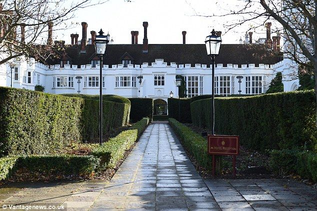 The Venue Danesfield House Hotel Spa In Marlow Buckinghamshire Has Reportedly Been
