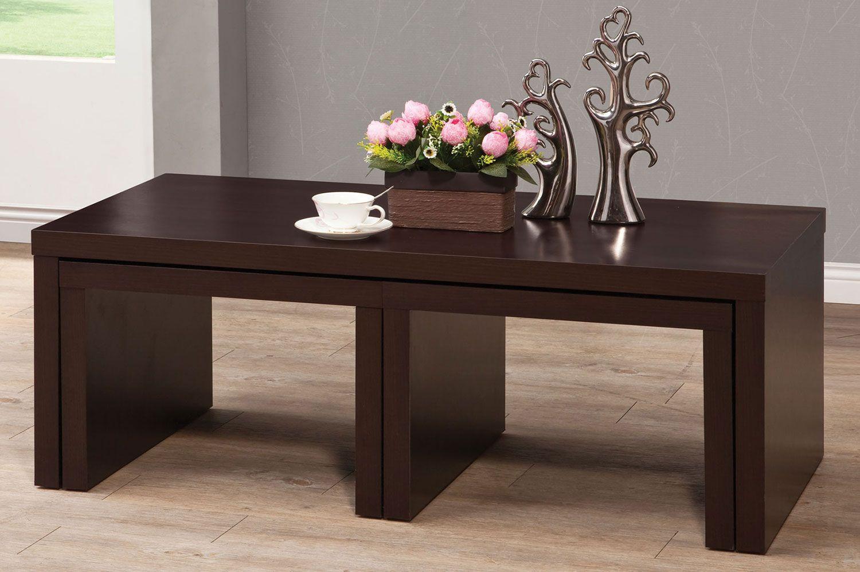 Coaster 701760 3 Piece Nesting Occasional Set Coffee Table Coaster Fine Furniture Coffee Table Setting