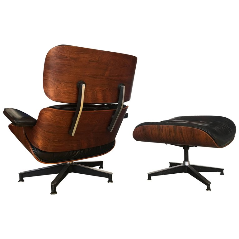 Herman Miller Lounge Chair 1St Year 1956 Eames Lounge