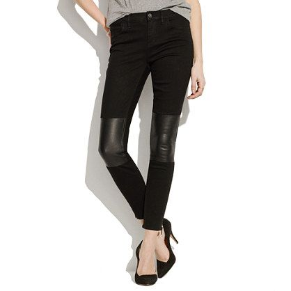 4e3acf190c515 The Patchwork Edition: Skinny Skinny Ankle-Zip Jeans - denim - Women's NEW  ARRIVALS - Madewell