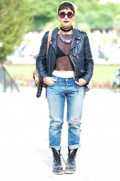 e504963c939 Tank Girl Inspo - look at those scruffy Dr Martens Jadon Women s boots!