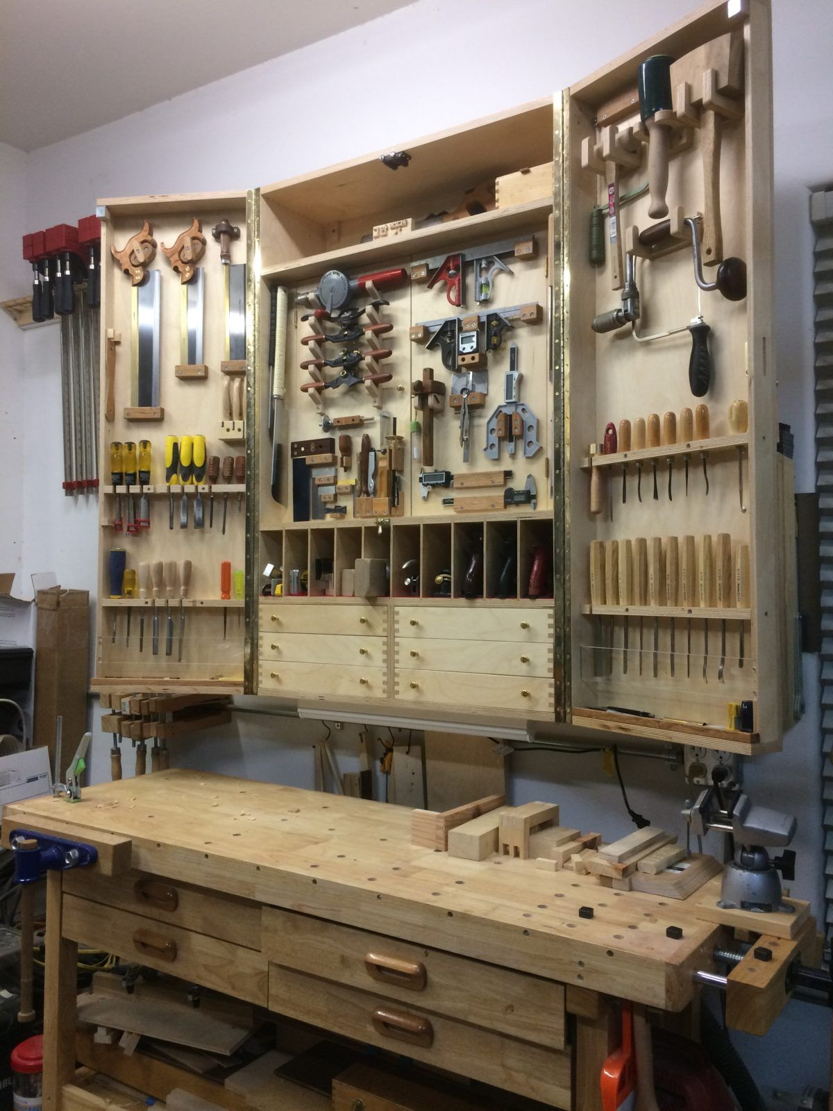 Woodworking Workshop Need Storage For Hand Tools Here They Are  # Muebles Sortimo