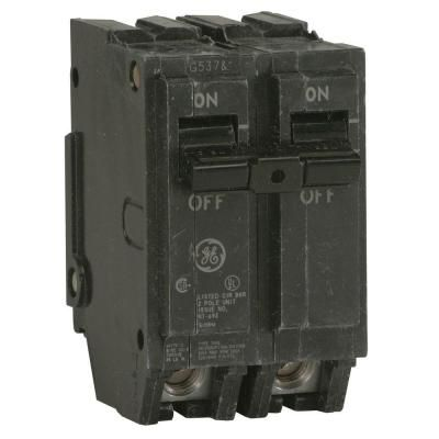 Ge Q Line 30 Amp 2 In Double Pole Circuit Breaker Thql2130 The Home Depot Breakers Electrical Breakers General Electric