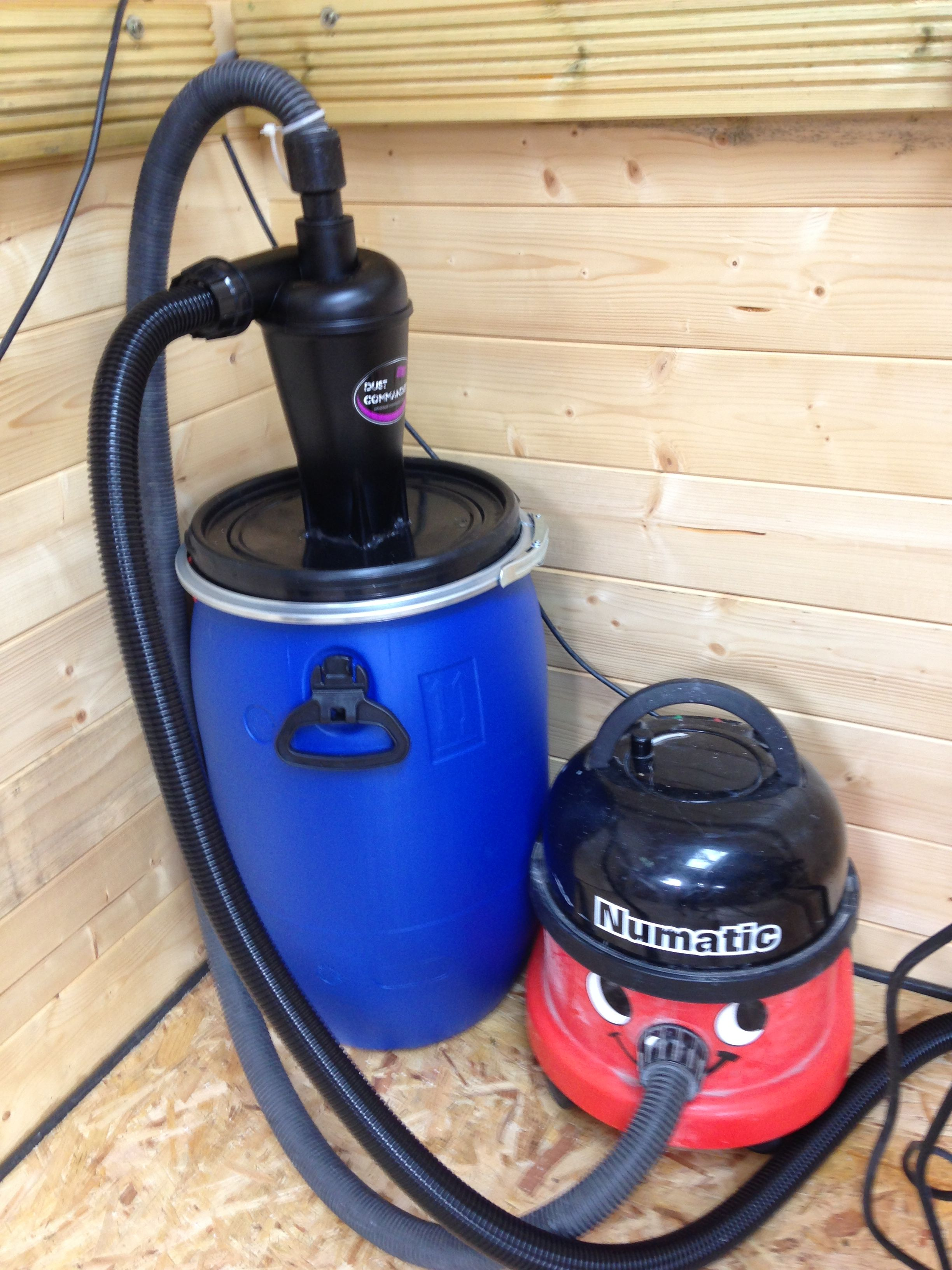 Homemade vacuum cleaner for the carpentry workshop 80
