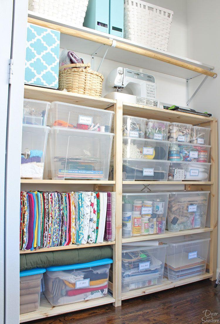 Cheap U0026 Easy Closet Organization With Ikea Ivar Shelves