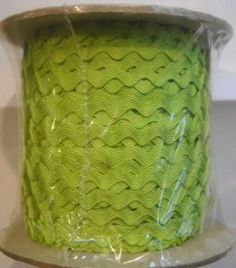 109 Yds Bulk Lime Rack Trim 3/8 Inch | 860-623-9320