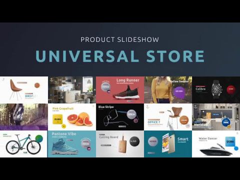 Universal Store - Product Slideshow (Videohive After Effects
