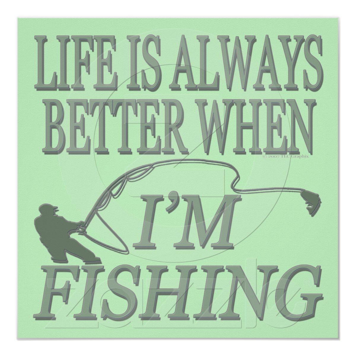 Love Fishing Quotes Fishing  Posters  Pinterest