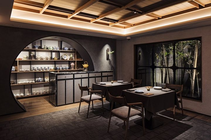 Sazenka Restaurant By Design Studio Crow Tokyo Japan Retail Blog