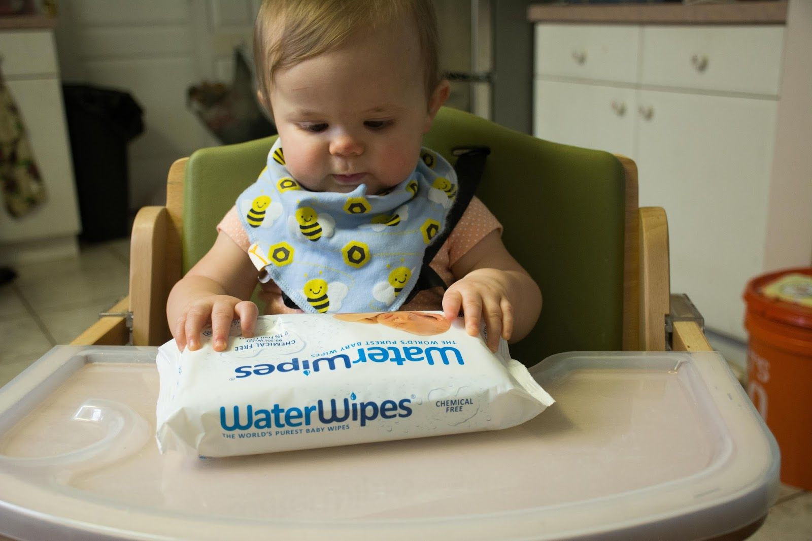 WaterWipes - The safest wipe option for delicate skin.