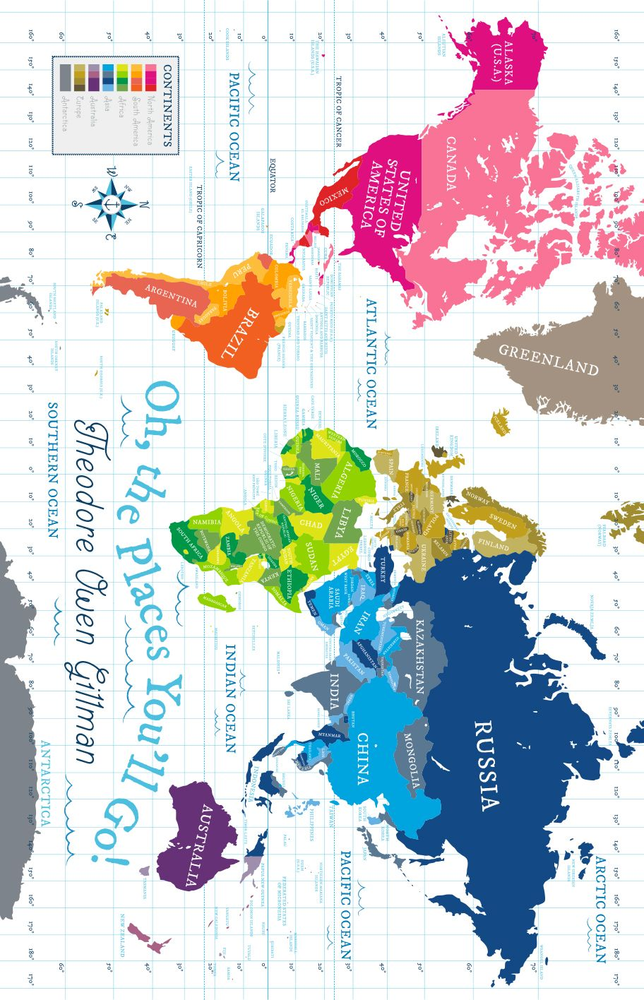 World map fabric panel white background pitter patterned fabrics world map gumiabroncs Gallery