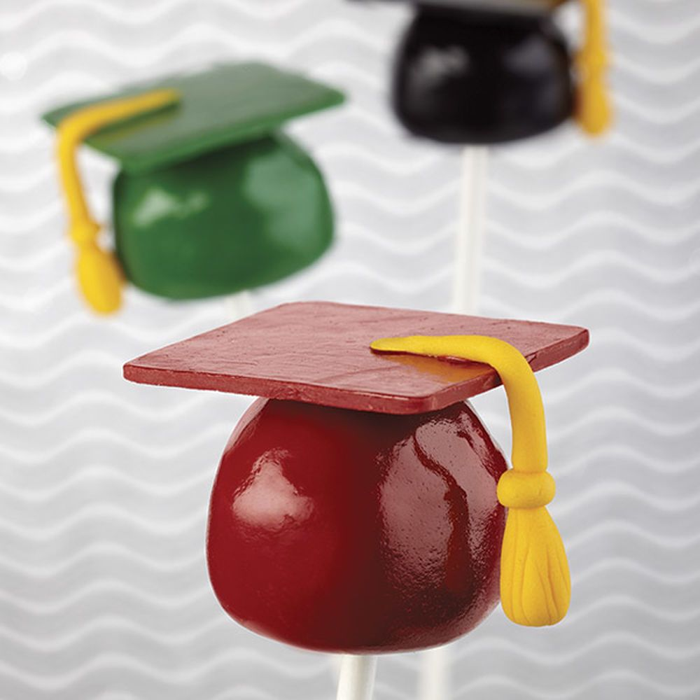 Graduation day sweet celebrate with candy melts candy
