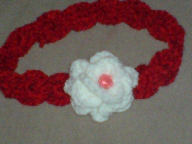 Haarband mit Blume