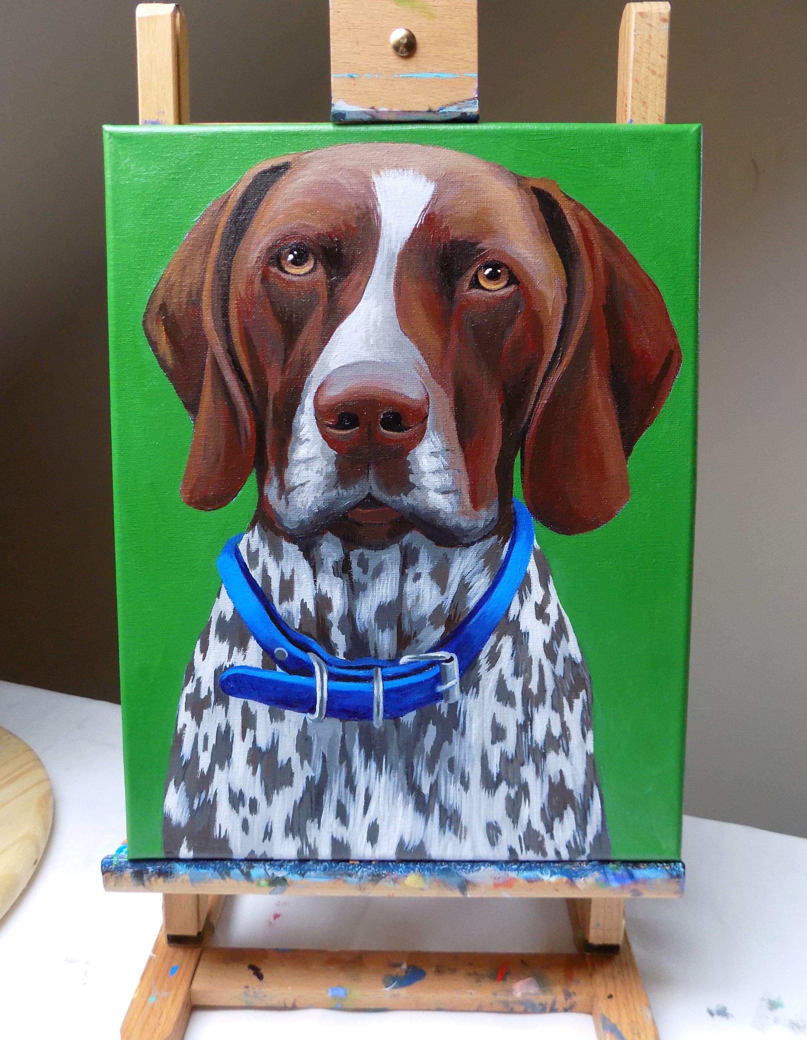 Custom Pet Portrait By Lauren Custom Pet Portraits By Lauren In