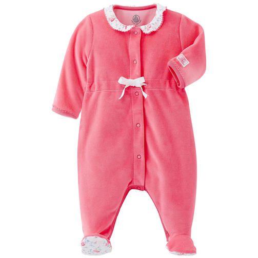 265884a64 Petit Bateau - Pyjama en velours - 170219 Bebe