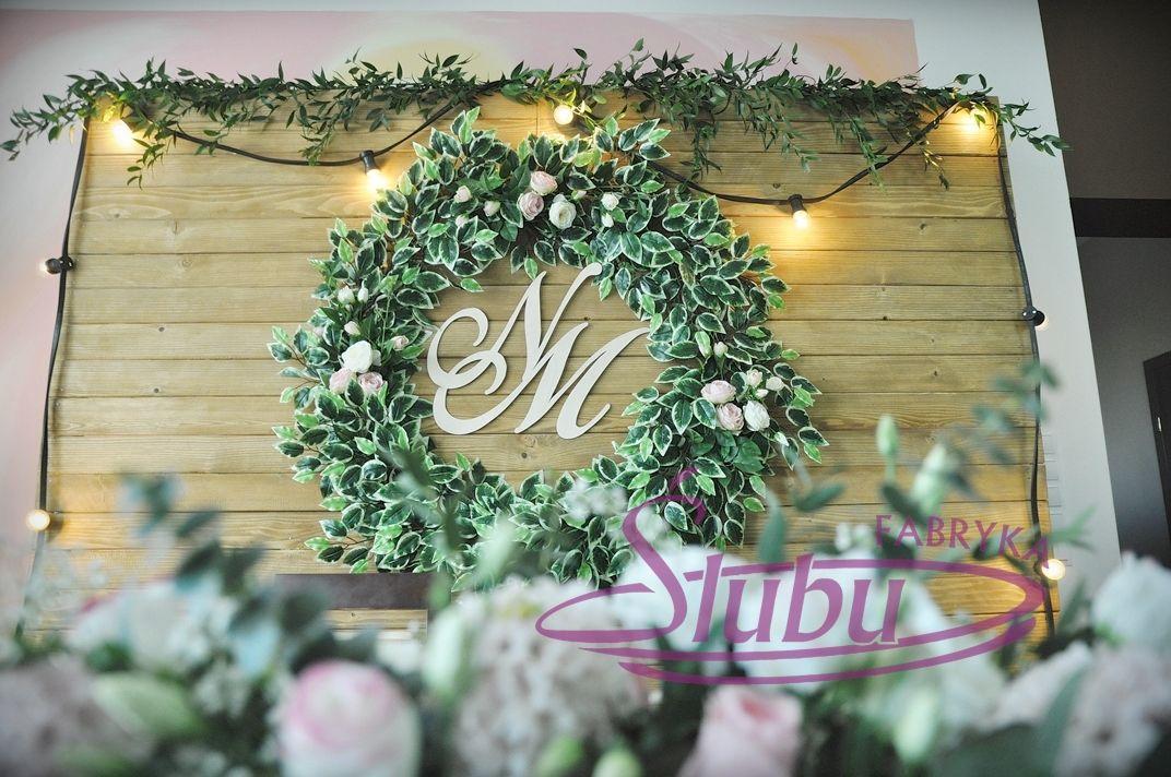 Dekoracja Sali Weselnej W Stylu Rustykalnym Wedding Wesele ślub