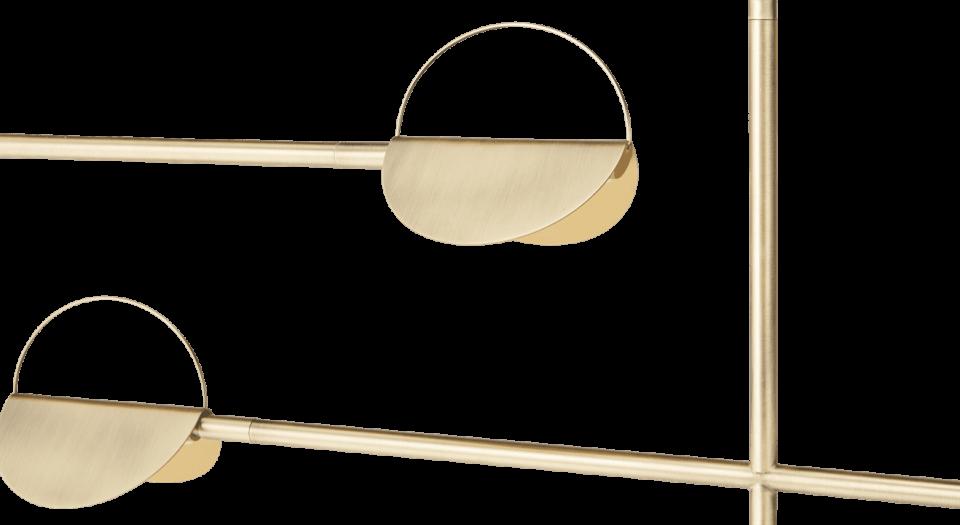 Leaves Pendant Gold By Bolia Restylit Shop Dreamy Interiors Suspension Lamp Interior Award Winning Designer