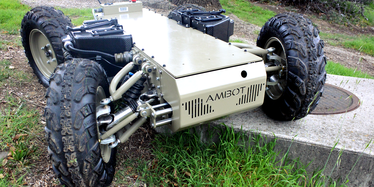 GRP 4400   UGV w 2019   Robotyka, Roboty i Drony