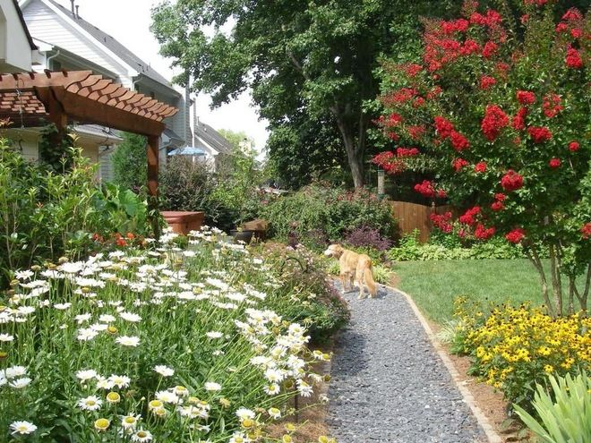Traditional Landscape by Home Garden Design Atlanta Danna