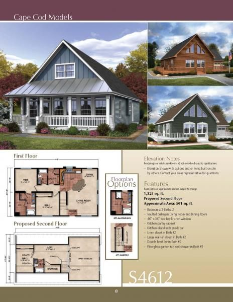 Chalet Style Modular Home Model Homes Vacation Home Modular Homes