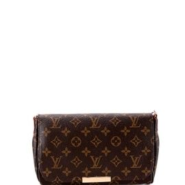 Сумка коричневая женская LOUIS VUITTON MONOGRAM CANVAS FAVORITE MM ... e90eba0f342