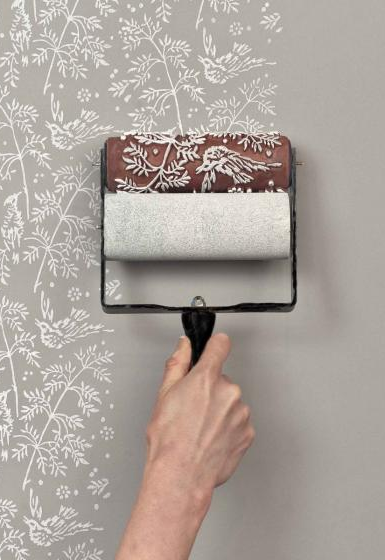 DIY: An Economical Wallpaper Alternative. Diy BedroomPaint ...