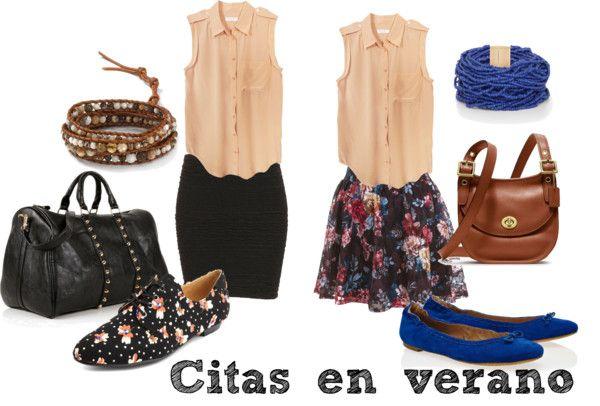 """Citas en verano"" by lablem on Polyvore"
