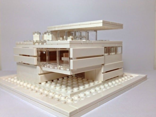 Modern mini houses architecture models pinterest for Modernes lego haus