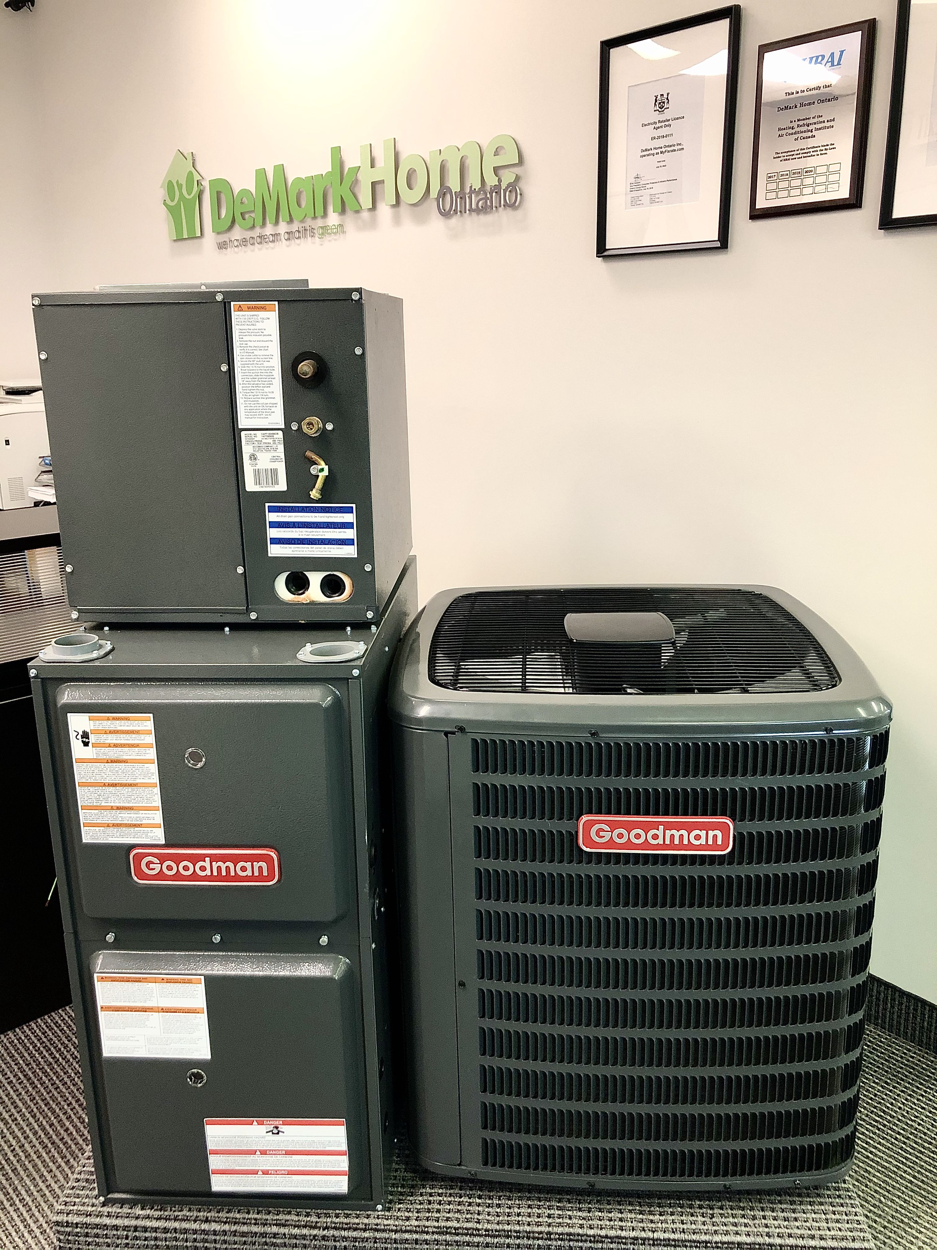 Give us a call today and have a new furnace or AC