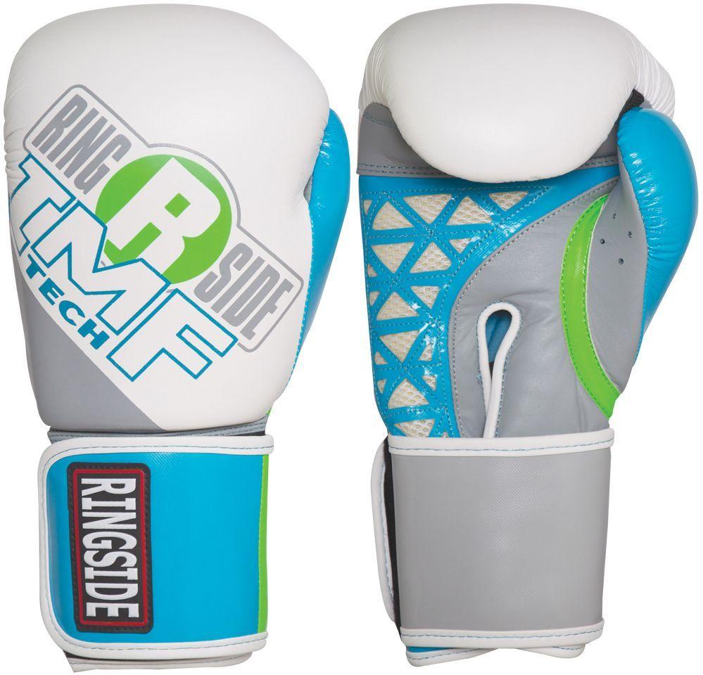 Ringside Women's IMF Tech Sparring Gloves, Blue Sparring