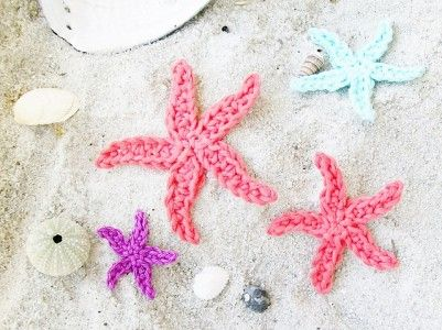 10 Free Crochet Ocean Applique Patterns From Fish To Anchors