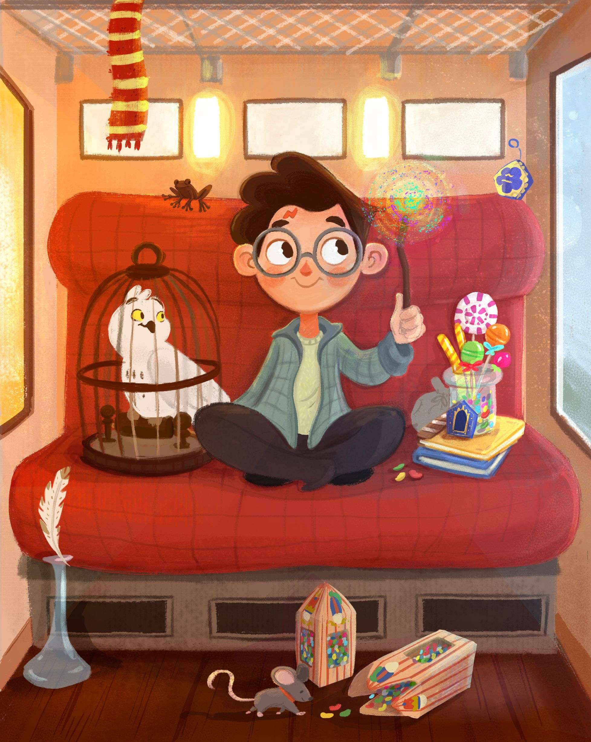 Harry Potter Illustration Made By Me Alicespicuzza Harrypotter Harrypotterillustration