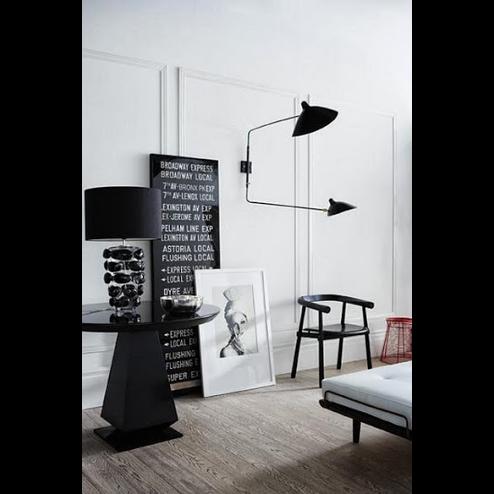 lampe serge mouille licht pinterest b ros und schlafzimmer. Black Bedroom Furniture Sets. Home Design Ideas