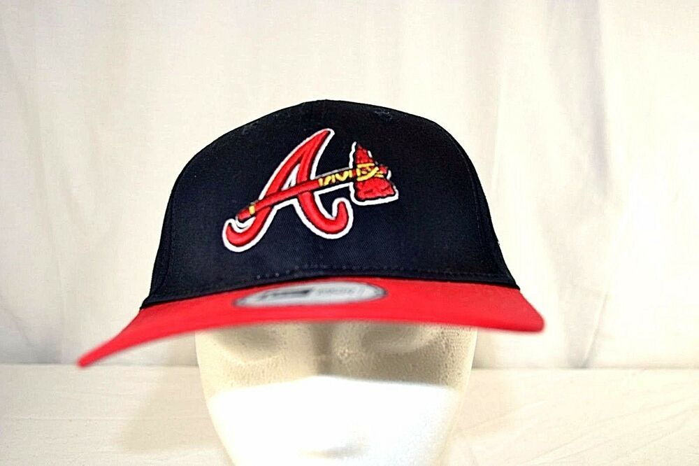 Atlanta Braves Black/Red Baseball Cap Snapback ( MLB 15 )  | eBay