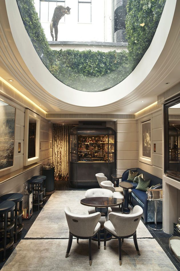 The Champagne Room At Connaught Hotel London UK