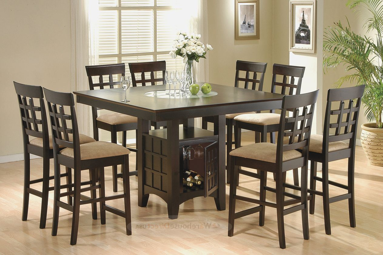 8 Seat Square Dining Table Square Dining Table For 8 Cheap Dark Brown Square Piece Dining