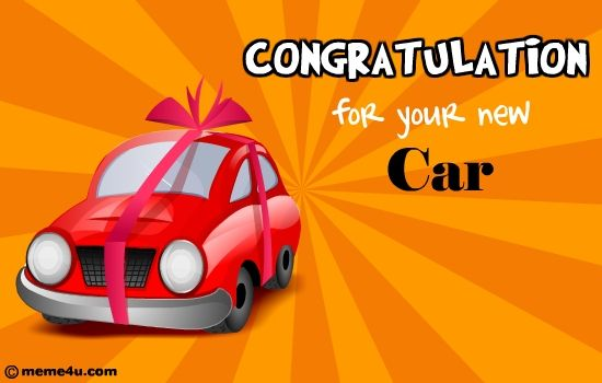 Image result for congratulations card for new car New