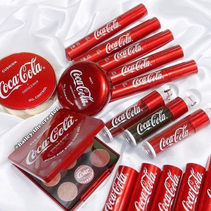 Neue Make-up-Kollektion von Coca Cola x The Face Shop – #Coca #Cola #Collection #fa …   – Makeup